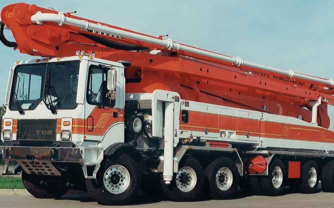 Camion TOR | Porteur de pompes à béton | R.P.M. Tech