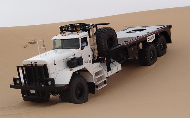 Extreme service oil field TOR truck | TOR trojan series