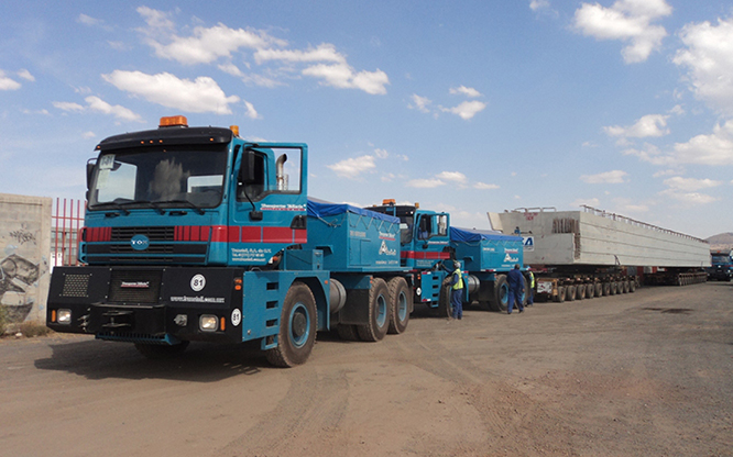 Transporteur d'équipement lourd | Camion TOR | RPM Tech