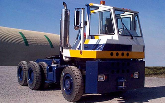 Tracteur Ro-Ro | Déplacement vite de remorques | Camion TOR