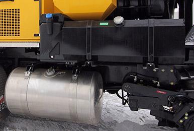 Soufflante AF1 EVO | Opération d'entretien hivernal | Rails