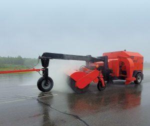 Tenco airport runway broom