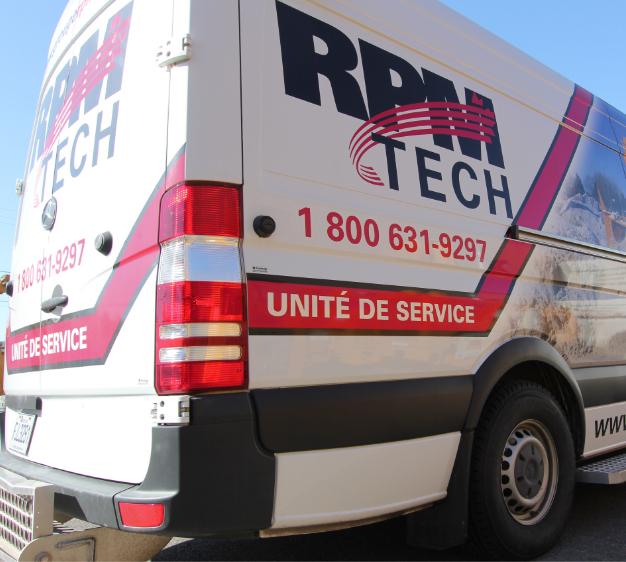 R.P.M. Tech | Service en tout temps | Unité de service