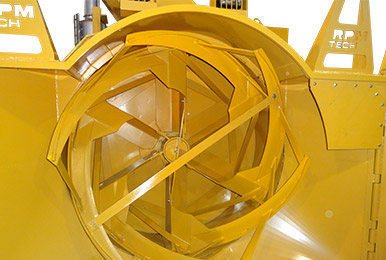 P3500's oversize impeller housing can throw more snow