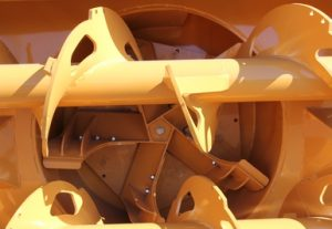 Large impeller casing - RPM Tech loader-mounted snow blower RPM215