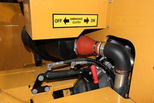 Embrayage d'urgence de la souffleuse industrielle RPM217