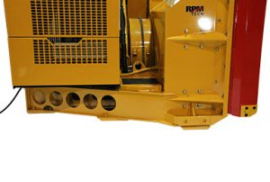Heavy-duty frame RPM217 loader-mounted industrial snow blower