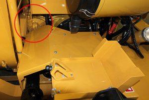 Système de transmission efficace de la souffleuse industrielle RPM220R