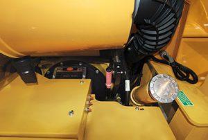 Embrayage d'urgence de la souffleuse amovible RPM220