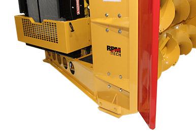 Les souffleuse RPM Tech offrent un chassis ultra-robuste