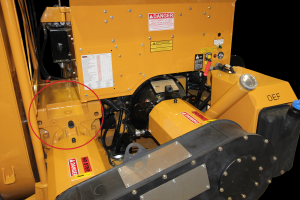 Large ribbon RPM Tech snow blower attachments are built with heavy-duty gearboxes