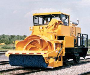 Railroad snow blower locomotive - RPM Tech RSRS