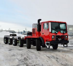 Custom TOR cabover truck | 6 axles | On/off highway