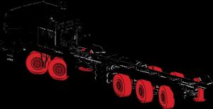 Variable quantity of axles | Custom TOR truck | RPM Tech