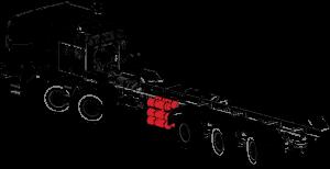 Braking system | FMVSS and CMVSS certified | TOR truck