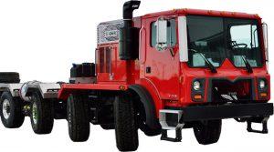 On/off highway custom carrier - TOR trucks