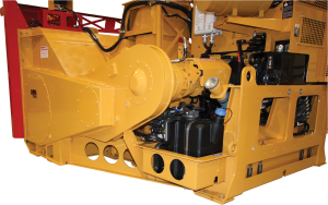 Rugged frame of the RPM40R loader-mounted snow blower