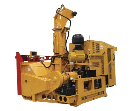 Loader-mounted ribbon snow blower ideal for large municipalities - RPM40R