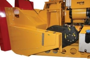 RPM36R industrial snow blower is equipped with belt drive system